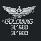 logo goldwing 1500 ou 1800 - M18