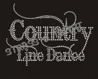 T-shirt country line dance C10