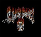 T-shirt  croix choppers en strass M5