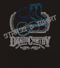 T-shirt dance country strass C8
