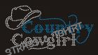 Logo country cowgirl C41