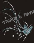 T-shirt Papillon en strass AN21